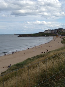Tynemouth Beach: A beautifully, relaxing scenic view